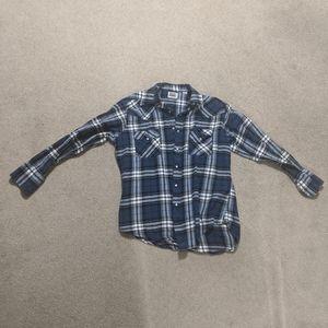 Men's Snap Button Flannel